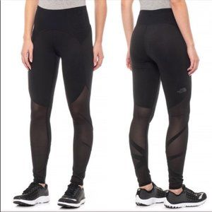 The North Face Vision Mesh Mid-Rise Black Tights